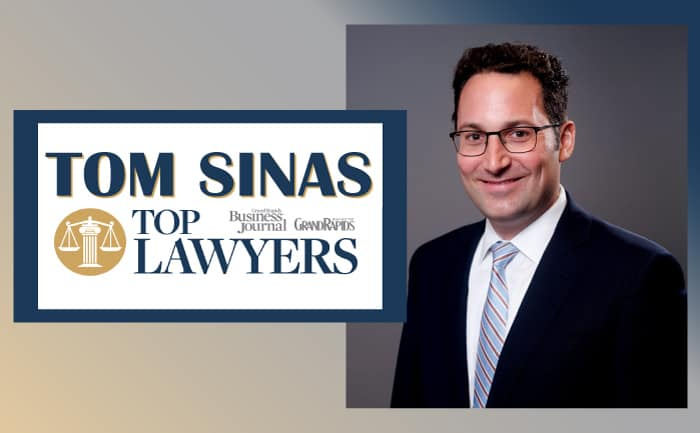 Tom Sinas Grand Rapids Top Lawyer