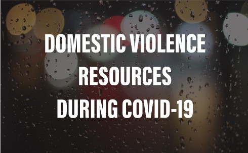 domestic violence resources during COVID-19
