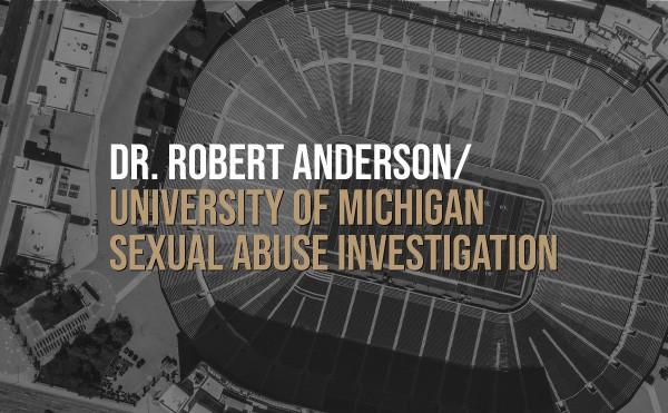 University of Michigan Big House aerial photo black and white