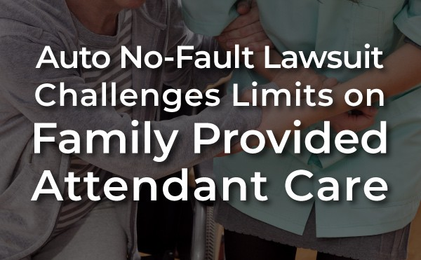 family provided attendant care lawsuit