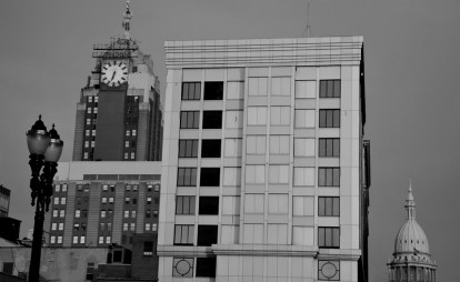 downtown Lansing Olds Tower Building