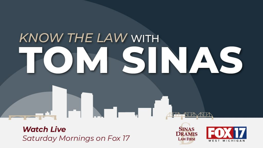 Know the Law with Tom Sinas