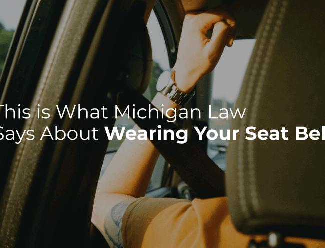 driver wearing seat belt