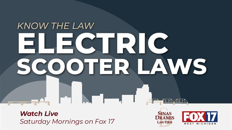 know the law electric scooter laws