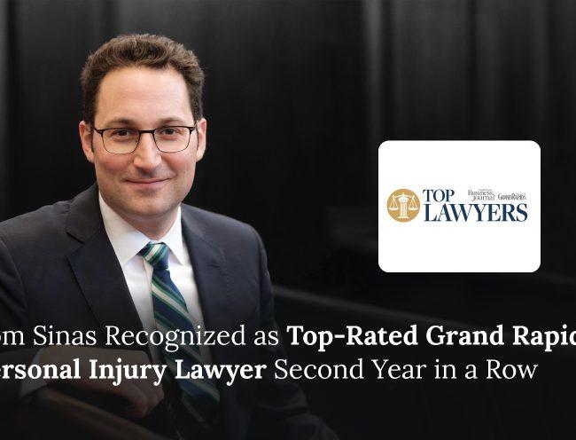 Tom Sinas Grand Rapids Top Lawyers