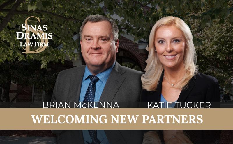 Brian McKenna and Katie Tucker join Sinas Dramis partnership