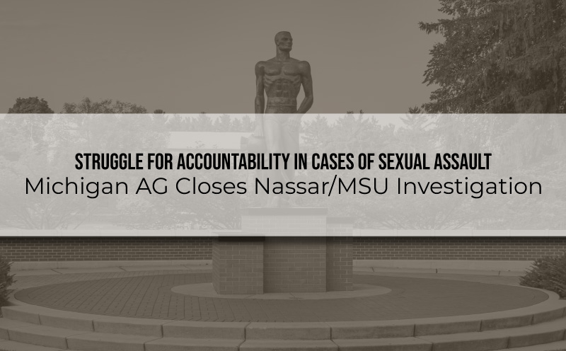 accountability in sexual assault cases