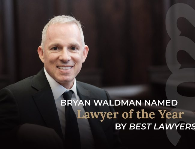 Bryan Waldman named 2022 Lawyer of the Year by Best Lawyers
