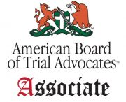 American Board of Trial Advocates Associate badge