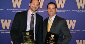 Joel Finnell and Steve Sinas Receive Distinguished Brief Award