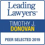 Tim Donovan Leading Lawyers 2019
