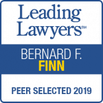 Bernie Finn Leading Lawyers 2019 badge