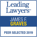 Jim Graves Leading Lawyers 2019 badge