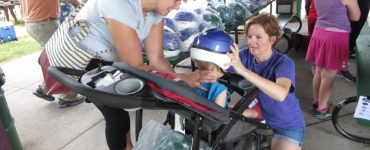 Grand Rapids Lids For Kids: 439 Bike Helmets Handed Out