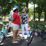 Grand Rapids bike helmet giveaway