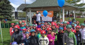 2016 Traverse City Lids for Kids: 400-Plus Bike Helmets Given Away