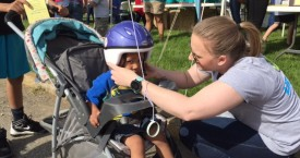 Lids For Kids: 1,373 Bike Helmets Given Away In 2016!