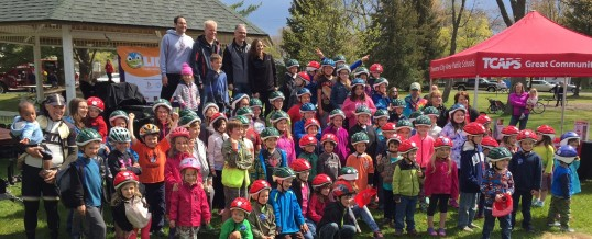 Traverse City Bike Helmet Giveaway: Hundreds Of Kids Get Properly Fitted Head Gear