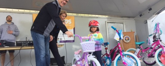 Lansing Bike Helmet Giveaway Helps Protect Kids From Head Injury