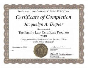 Jackie-Dupler-family-law-certificate