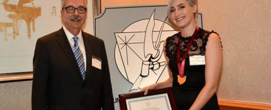 Sister Survivor, Amanda Thomashow, Receives Prestigious Justice Award at Annual Ceremony