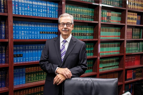 Jim-Graves-in-law-firm-library