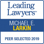 Mike Larkin Leading Lawyers 2019