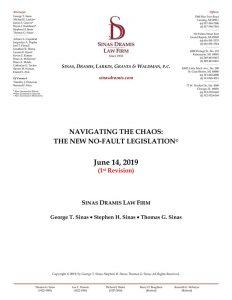 new-auto-no-fault-legislation-overview