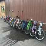 Bikes donated by McLain Cycle