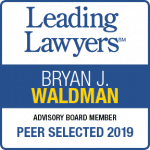 Bryan Waldman Leading Lawyers 2019 badge