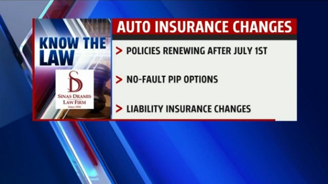 Auto Insurance Changes in Michigan