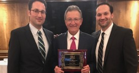 George Sinas Receives Esteemed Earl J. Cline & Sherwin Schreier Award for Excellence
