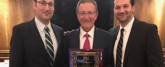 George Sinas Receives Esteemed Earl J. Cline & Sherwin Schreier Award for Excellence