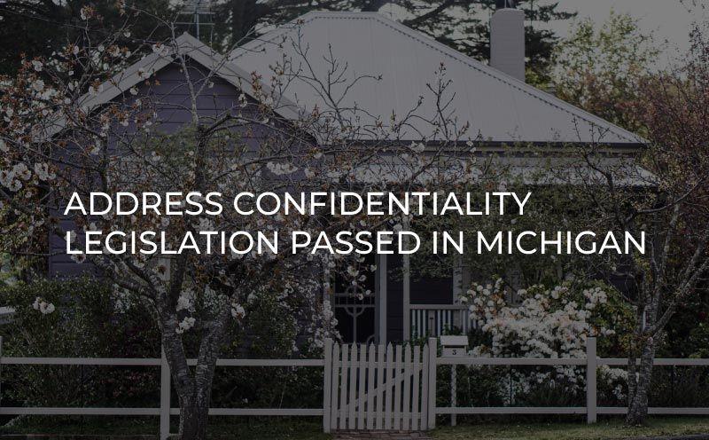Address Confidentiality Program Legislation Passed to Protect Victims