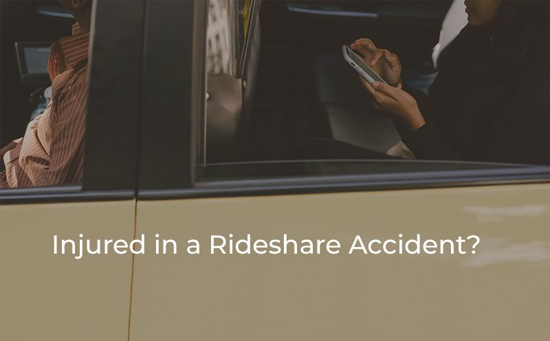 Injured in a Rideshare Accident – No-Fault Benefits, Liability Claims