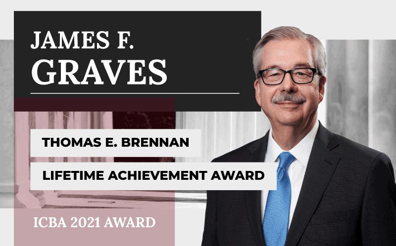 James F. Graves Receives Thomas E. Brennan Lifetime Achievement Award