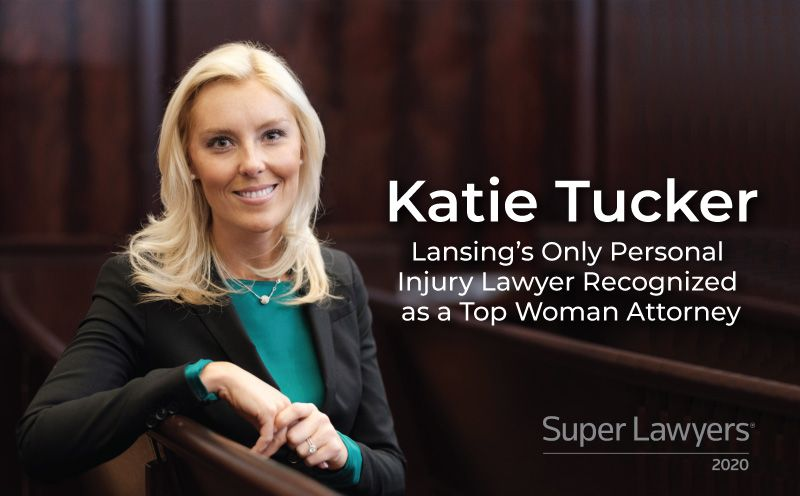 Katie Tucker – Only Lansing Personal Injury Lawyer Recognized as a Top Woman Attorney