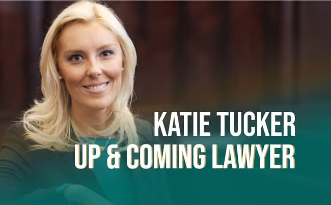 """Katie Tucker Recognized as """"Up and Coming Lawyer"""" by Michigan Lawyers Weekly"""