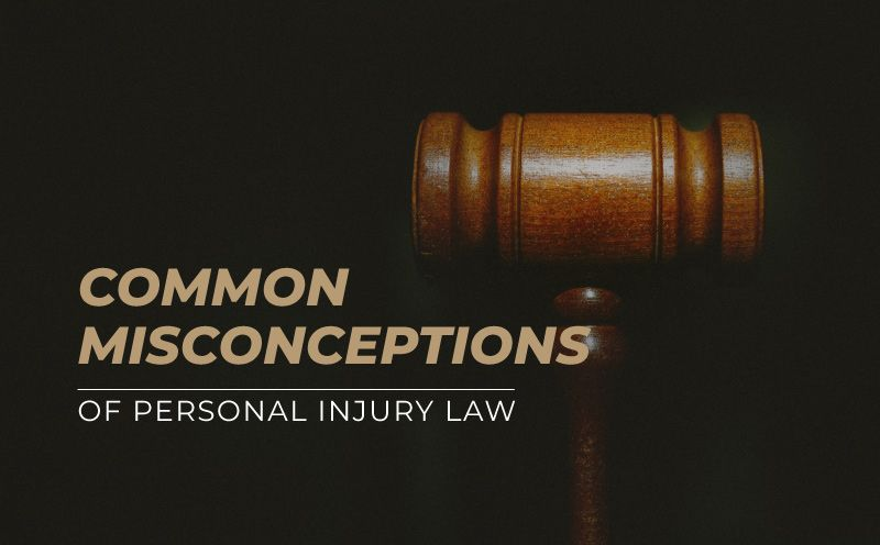 Personal Injury Misconceptions – How the Legal System Works When Injured Because of Another