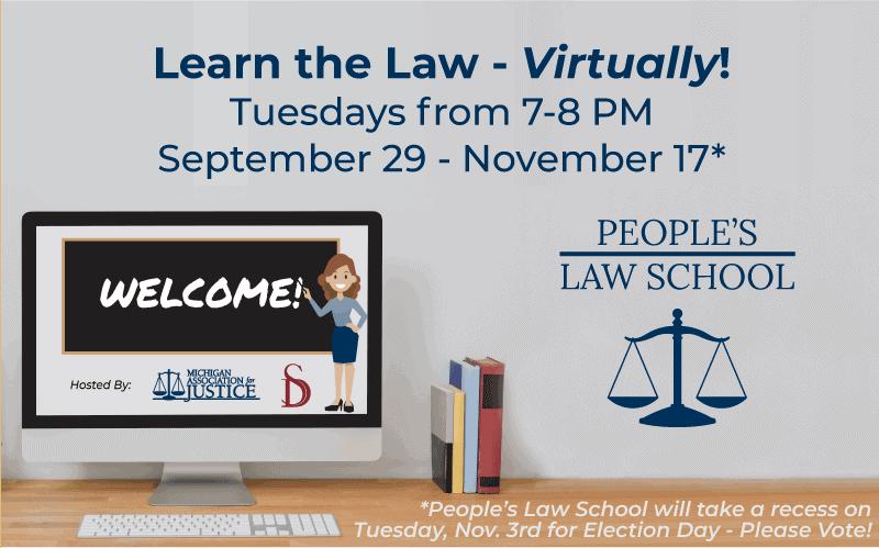 People's Law School 2020 Goes Virtual!