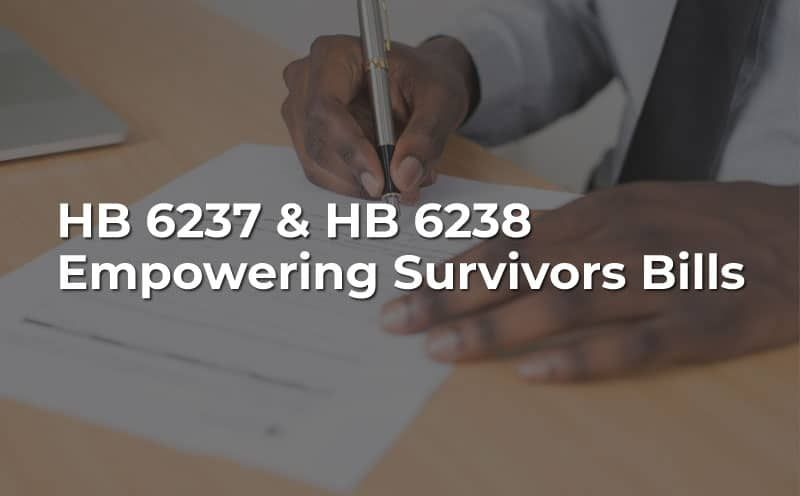 """""""Empowering Survivors Bills"""" Seek to Expand Sexual Abuse Survivors Rights"""