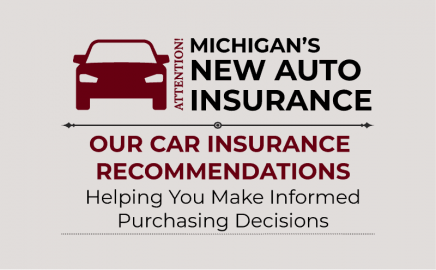 our car insurance recommendations and new no-fault law