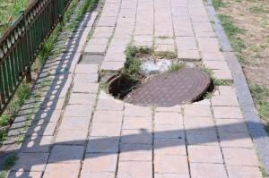 Unsafe Walkways and Dangerous Sidewalks
