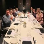 group of people at dinner at Wold Burn Congress