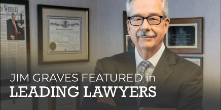 Jim Graves Featured in Leading Lawyers Magazine