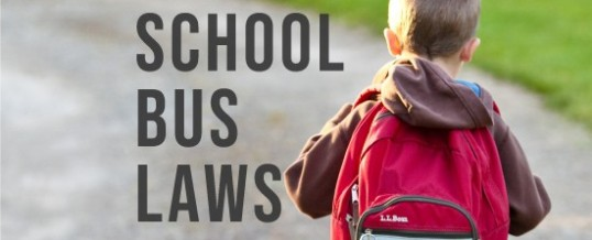 Back to School Reminders & Michigan School Bus Laws