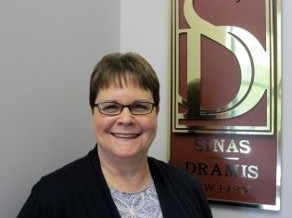 "Sinas Dramis Legal Assistant Nancy Gibson Honored As An ""Unsung Legal Hero"""