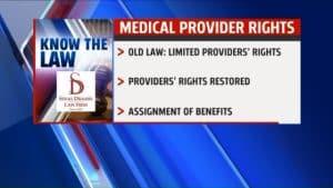 Michigan No-Fault Medical Provider Rights