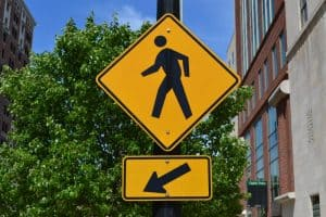 pedestrian-crosswalk-sign-lansing-michigan
