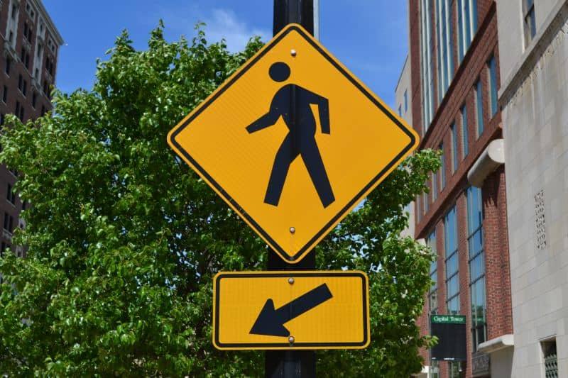 pedestrian-crosswalk-sign-lansing-michigan